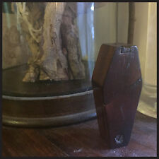 Antique Coffin Shape Snuff box Puzzle Box - Gothic - Memento Mori Mourning