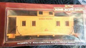 BACHMANN 'G' BIG HAULER TRAIN 93851 Center Cupola Wood CABOOSE Union Pacific
