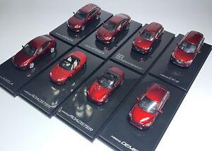 SPEED GT1:64 alloy car model Mazda MX-5 CX-3 CX-5 Axela Toyota Model collection