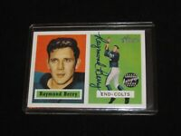 2002 Topps Heritage Raymond Berry Certified Autograph Issue Baltimore Colts