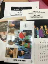BTS BANGTANBOYS 2017 Season's Greeting Note + Sticker + Card + Calendar