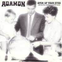 AGAMON Open Up Your Eyes CD Prog Rock ala Zappa/Keneally w/ Mats & Morgan