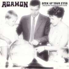 AGAMON Open Up Your Eyes CD Prog Rock ala Zappa/Keneally w/ Mats & Morgan