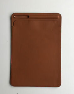 Genuine Apple Leather Sleeve Case Saddle Brown 7th /8th Gen iPad Pro 10.5 Air 3