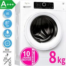 Whirlpool by Bauknecht 8 kg Waschmaschine Nachlege-Funktion AquaStop A+++ 1400 U