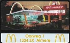 Telefoonkaart / Phonecard Nederland RCZ729 ongebruikt - McDonald's Almere