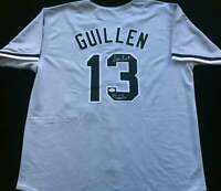 Ozzie Guillen Signed Autograph Gray Jersey 05 WS CHAMPS JSA COA White Sox Great