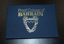 Bahrain 8 Coins 1965-1969 Proof Set!
