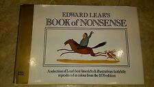 A Book of Nonsense by Edward Lear (Hardback, 1988)