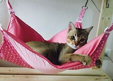 Cat hammock Rustic and will last for years