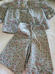 """VINTAGE DOLL CLOTHES Adorable OUTFIT For 14"""" OR 15"""" doll Handmade"""