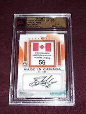 12-13 ITG Ultimate Memorabilia RYAN GETZLAF 3CLR CANADA TAG AUTO GOLD * TRUE 1/1