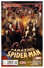 1)AMAZING SPIDER-MAN v3 #12(3/15)'1st LEOPARDON'(GWEN/NOIR/SILK/HAM)CGC IT(9.6)!
