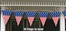 USA American Stars & Stripes Giant Flag Bunting Banner 4th July Party Decoration