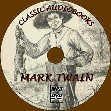 Huckleberry Finn & 30 MARK TWAIN NOVELAS MP3 Audiolibros DVD CUENTOS CLÁSICOS /