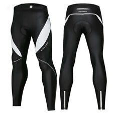 Men's Thermal Winter Cycling Pants Padded Tights Trouser Bike Bicycle Windproof