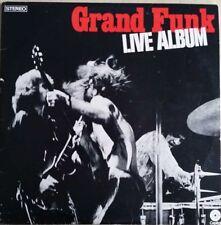 1970 ROCK - GRAND FUNK - LIVE ALBUM 2 x LPs & POSTER - CAPITOL SWBB 633 AUSSIE