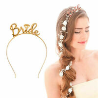 Hen's Night Bride to be Wedding Party Bachelorette Tiara Crown Headband Hoop