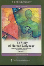 THE HISTORY OF HUMAN LANGUAGE PARTS 1-3 JOHN McWHORTER 6 DVD/BOOK R1 NEW/SEALED