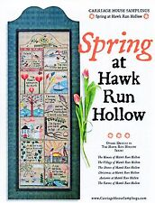 Spring at Hawk Run Hollow Cross Stitch Chart Pack - Carriage House Samplings