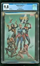 CGC 9.8 NM/MT MIGHTY AVENGERS #2 MARVEL COMICS 2013 CAMPBELL VARIANT COVER