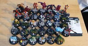 Marvel Heroclix X-Men Rise And Fall Complete CU Set 001-034 Figures