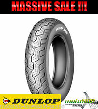 Dunlop D404 100/90-19 57H Front Tubless Tyre Tire MotorcycleBike Touring Cruiser