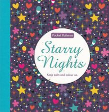 Starry Nights: Pocket Patterns Colouring Book, New (Paperback)