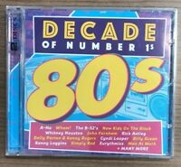 "VARIOUS ARTISTS- Decade Of Number 1's ""The 80's"" [2-CD, Australian Import, Sony]"
