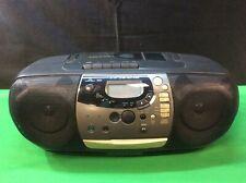 Magnavox Stereo Cd Player Cassette Radio Recorder Az1407.