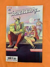 Marvel Comics Runaways #20 Cover A 2019 1st Print Marvel (2019)