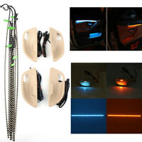 For BMW 5 Series F10/ F11 Dual Color Interior Led Ambient Door Light Stripes New