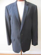 Dolce & Gabbana D & G Mens Luxury Black Blazer Jacket Sport Coat EUC 52