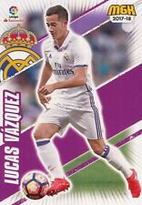 394 LUCAS VAZQUEZ ESPANA REAL MADRID BASE CARD CARTA MGK 2018 PANINI