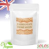 TASMANIAN HEMP SEEDS AUSTRALIAN GROWN ORGANIC HULLED 250g,1kg,2kg,4kg FAST&FREE