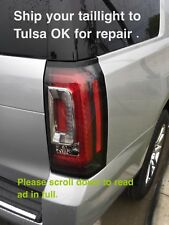 2015 2016  Yukon Denali tail light , REPAIR SERVICE, Yukon XL Taillamp