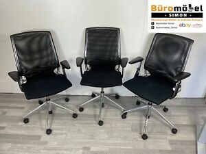 ❗️6x Vitra Meda Chair Bürodrehstuhl Ergonomisch Netzrücken Büromöbel Hochwertig