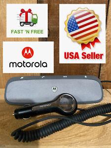Motorola Roadster Pro TZ900 Bluetooth Car Speakerphone W/ Charger Tested FR/SHP