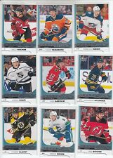 2017-18 UPPER DECK COMPLETE SET WITH YOUNG GUNS 521 CARDS SERIES 1 & 2 W/ UPDATE