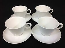 Franciscan Cloud Nine FOUR Cups and Saucers -- Mid-Century Modern