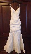 """Nicole Bakti 5946 White Wedding Sexy """"Sweet 16"""" Prom Debutante Dress Nwt Xxs"""