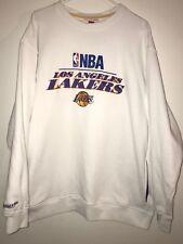 Mitchell Ness Hardwood Classics LA Lakers Embroidered Wool Sweater Mens 2XL