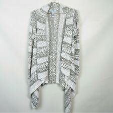 Maurices Draped Cardigan Sweater Med