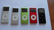Job lot 5x Apple iPod Nano 2nd Generation 2GB,4GB,8GB Small defect (Battery) 228