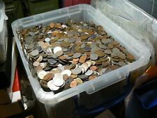 10 Pound Lot of Mixed Foreign Coins 100% Proceeds to Charity