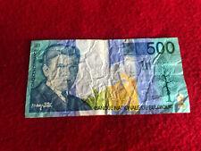 Billet de 500 francs banque Nationale de Belgique René Magritte