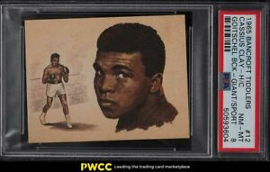 1965 Bancroft Tiddlers Giants Of Sport Cassius Clay Muhammad Ali #12 PSA 8 NM-MT