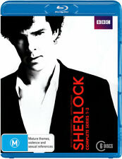 Sherlock: Series 1 - 3  - BLU-RAY - NEW Region B