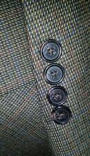 Ralph Lauren 48R Tweed Purple Green Nailhead Check Blazer Sport Coat Jacket men
