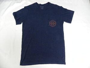 Nixon Men Brand Navy Pocket Tee Short Sleeve Medium T-Shirts